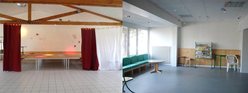 Salle centre du cros