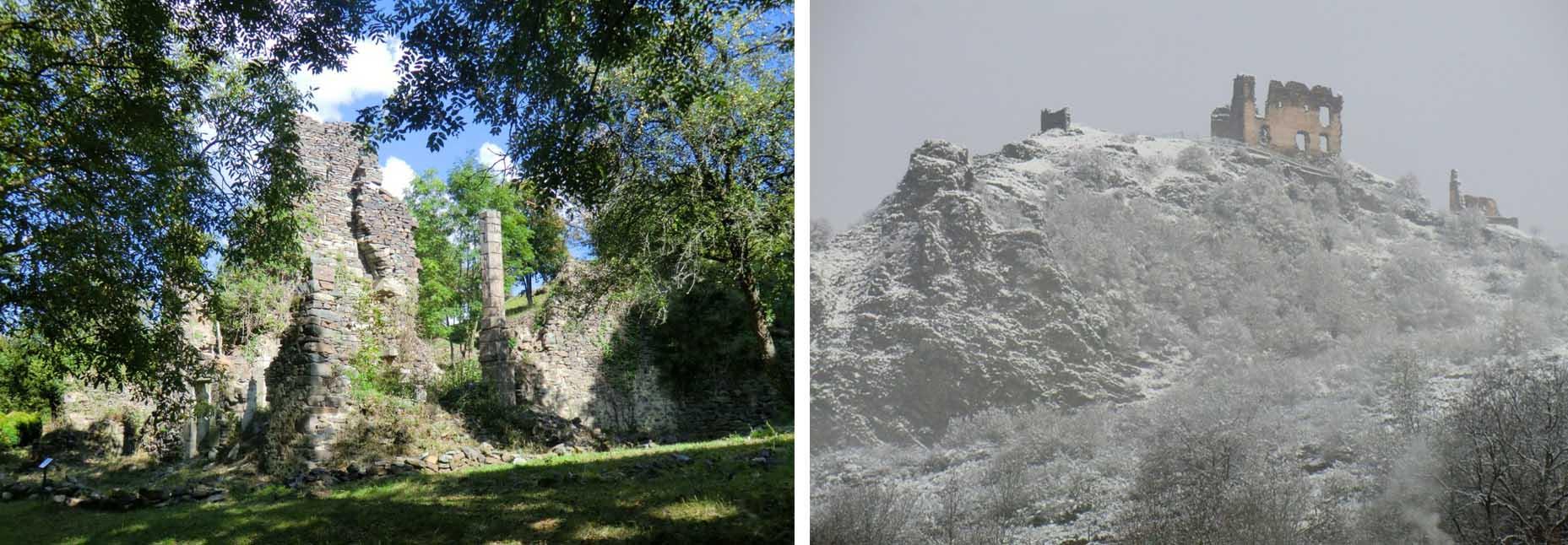 Que faire à Retournac - Visiter les ruines d'Artias